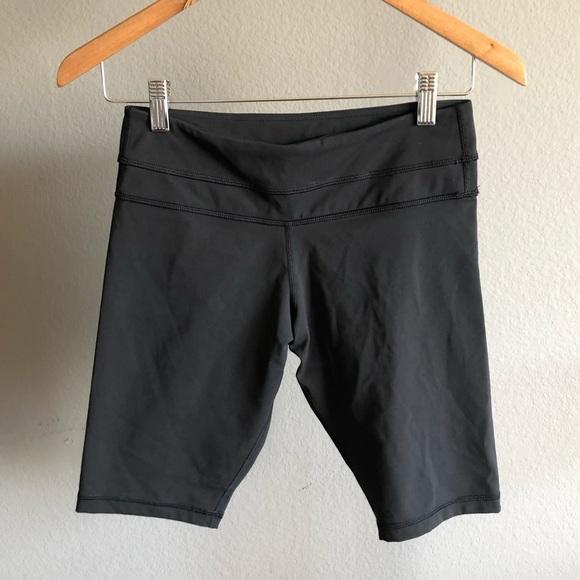 Lululemon black shorts , size 6